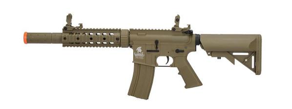 Lancer Tactical M4 SD Airsoft Rifle AEG, Gen 2, Tan