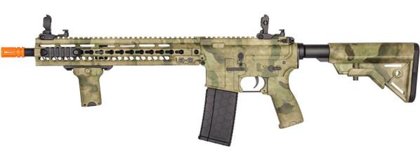 Lancer Tactical MK5 SMR 14.5 Black Jack Carbine AEG, ATACS Foliage Green