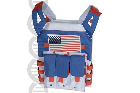 Helix Patriot JPC with USA Flag Patch