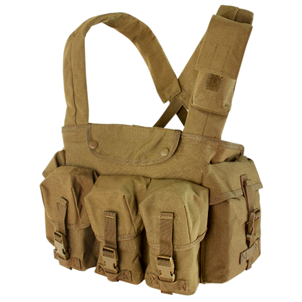 Condor 7 Pocket Tactical Chest Rig, Coyote