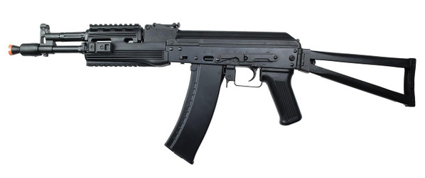 LCT AK-105 AEG Airsoft Rifle w/ Folding Stock, Black