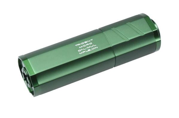 Helix Trident Micro Mock Airsoft Suppressor, Green