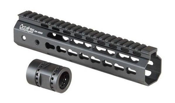 Ares Metal Keymod Handguard, 9 Inch, Black