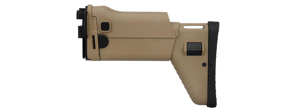 Dboys MK16 SCAR Style Replacement Folding Stock, Tan