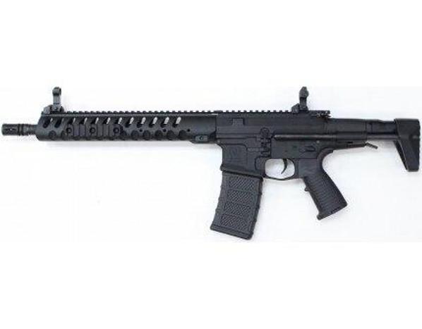 Classic Army Nemesis DE-12 Delta Elite AEG Airsoft Rifle, Black