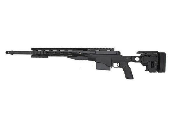 Ares Remington MSR338 Bolt Action Airsoft Sniper Rifle, Black