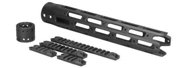 Ares 300mm M4/M16 Octagonal Handguard Set, Black