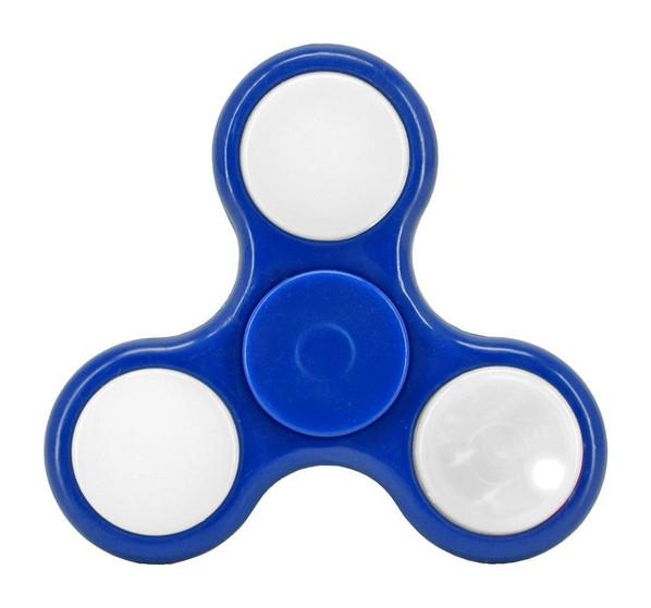 Light-Up Fidget Spinner, Blue