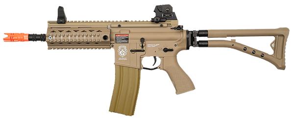 GandG GR4 100Y Blowback AEG Airsoft Rifle w/ Folding Stock, DST