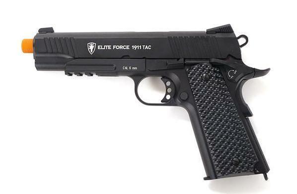 Elite Force 1911 Tac Co2 Blowback Airsoft Pistol, Black