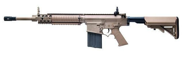 Ares SR25 Carbine Airsoft Rifle, Dark Earth