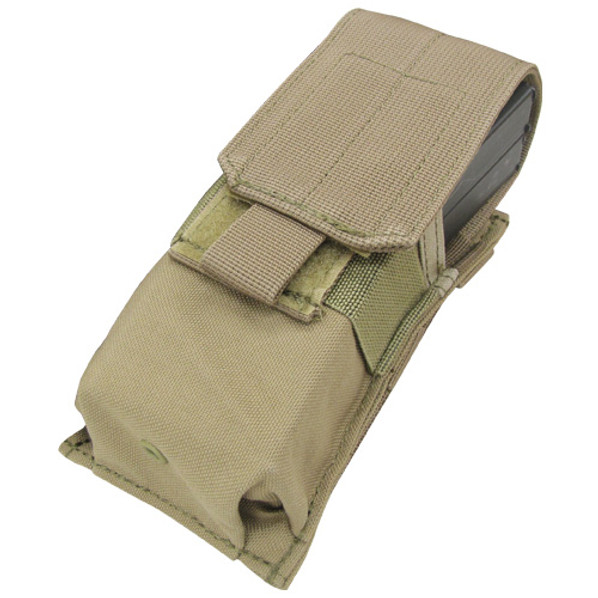 Condor MOLLE Single M4 Magazine Pouch, Tan