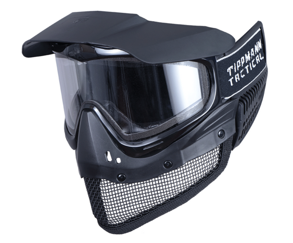 Tippmann Tactical Goggles and Integrated Mesh Mask Full Face Protection System