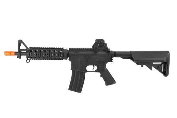 Lancer Tactical M4 CQB RIS Airsoft AEG Rifle, Black