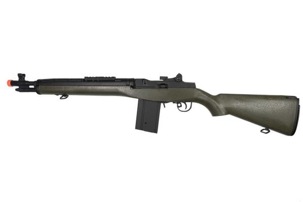 Lancer Tactical M14 Airsoft AEG Rifle, Short, Green