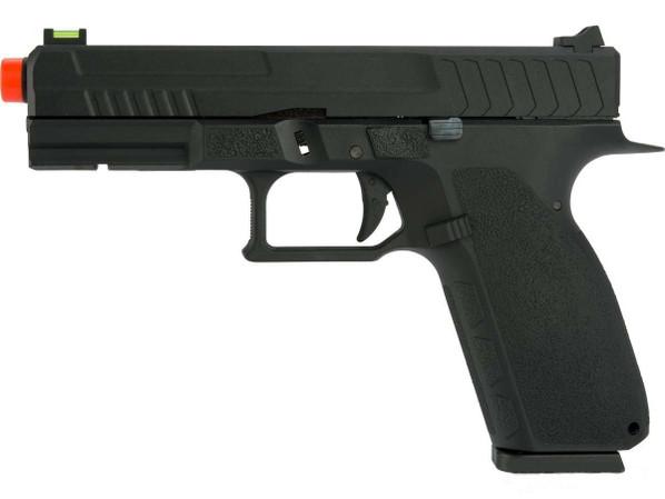 KJW KP13 Hi-Capa Tactical Gas/Co2 Gas Pistol, Black