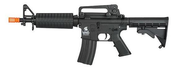 Lancer Tactical M4 M93 Commando Gen 2 Low FPS Version Airsoft Rifle, Black