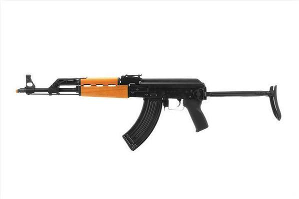 LCT Airsoft AK-47 M70 AEG w/ Wooden Handguard and Folding Stock