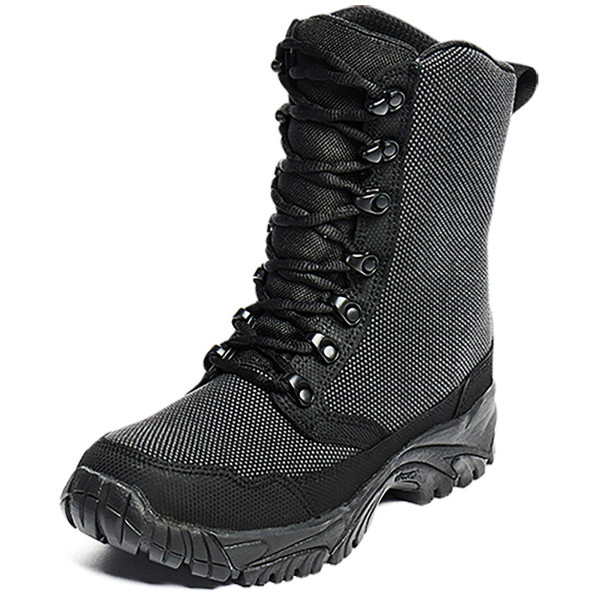 Altai 8 Laced Waterproof SuperFabric Mesh Tactical Boots, Black