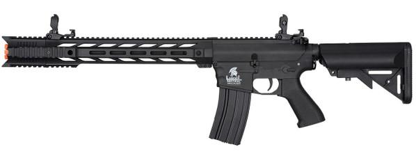 Lancer Tactical Interceptor SPR Gen 2 Airsoft Rifle, Low FPS Version, Black