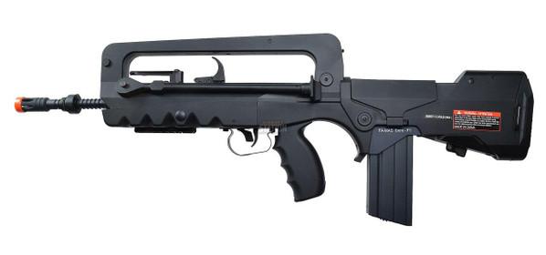 Cybergun FAMAS AEG Airsoft Rifle, Black/Smoke - REFURBISHED