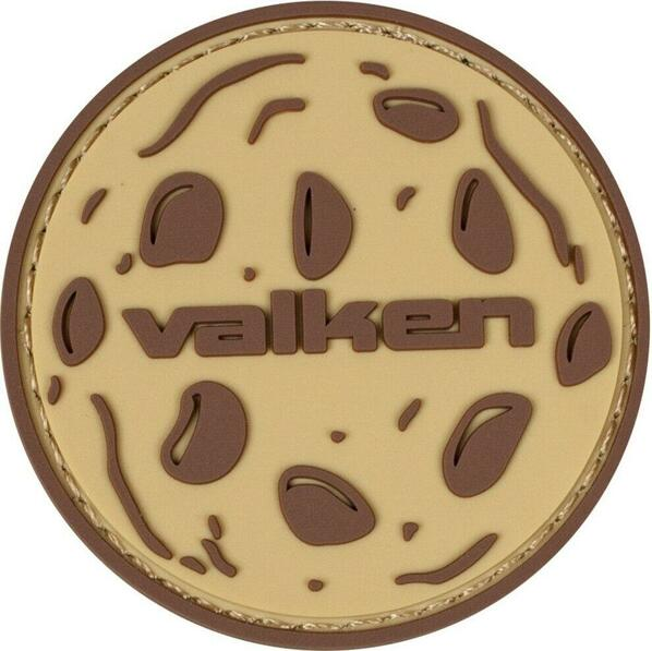 Valken Cookie 2 x 2 Morale Patch, Tan