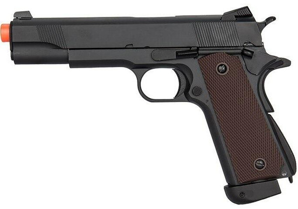 Double Bell Co2 Airsoft Pistol Type 2, High Velocity, Black
