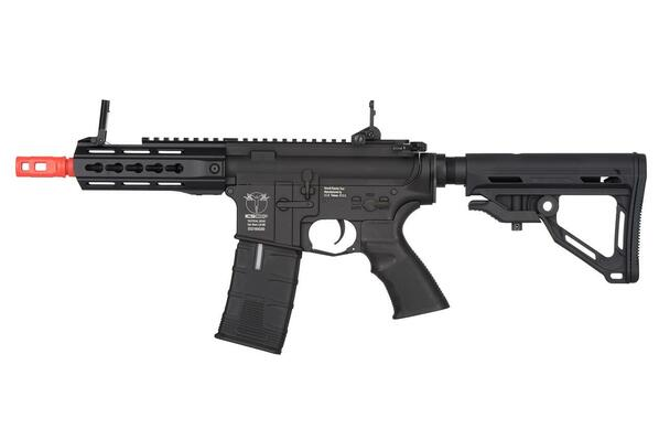 ICS ProLine CXP-UK1 Captain Electric Blowback AEG Airsoft Rifle, Black