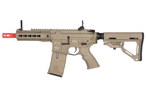 ICS ProLine CXP-UK1 Captain Electric Blowback AEG Airsoft Rifle, Tan