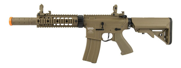 Lancer Tactical M4 SD Proline Series 7 Rail Low FPS Airsoft Rifle, Tan