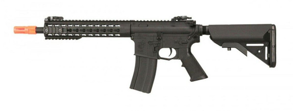 Knights Armament Nylon Fiber SR-16E3 CQB MOD2 Airsoft AEG, Black