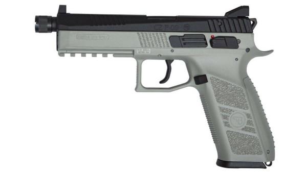 ASG CZ P-09 Co2 Blowback Airsoft Pistol, Urban Grey