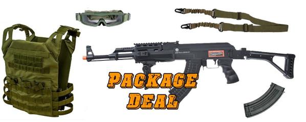AK47 Kalashnikov 60th Anniversary RIS AEG Combo