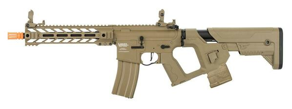 Lancer Tactical Enforcer Series LT-34 Proline BattleHawk AEG Airsoft Rifle, Tan