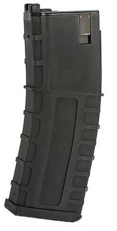 GHK 40 Round Magazine For G5 Gas Blowback Airsoft Rifle, Black
