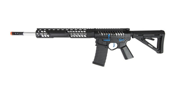 EMG F-1 Firearms BDR-15 3G AR15 Full Metal Magpul AEG Airsoft Rifle, Black / Blue