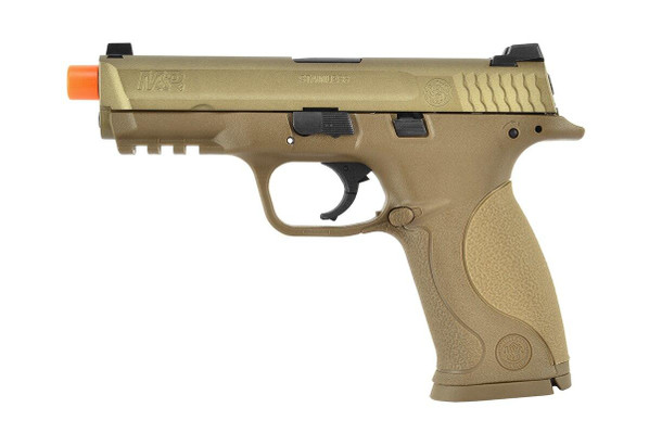 VFC Smith and Wesson MandP9 Gas Blowback Pistol, Tan