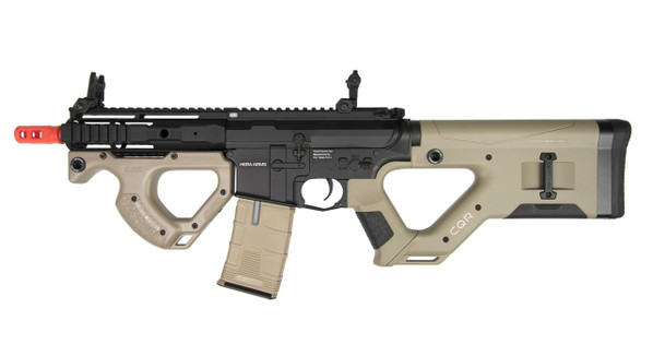ASG HERA ARMS CQR SSS Airsoft Rifle w/ Programmable MOSFET, Tan