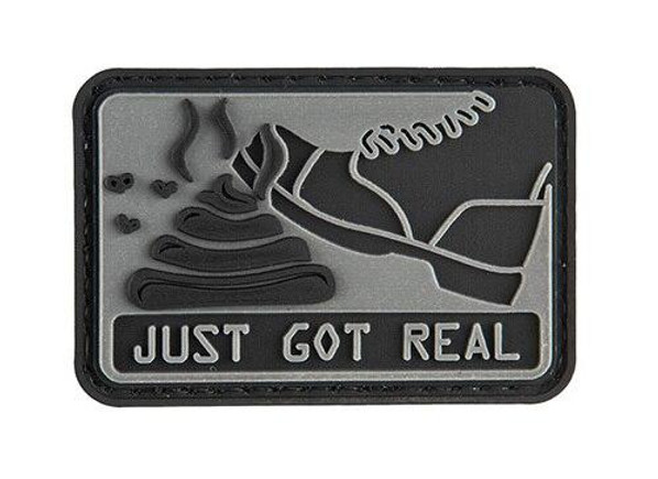 G-Force Sht Just Got Real PVC Morale Patch
