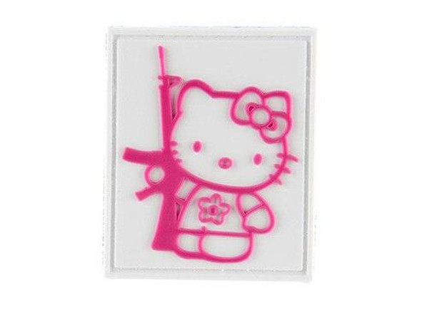 G-Force Kitty With Rifle PVC Morale Patch