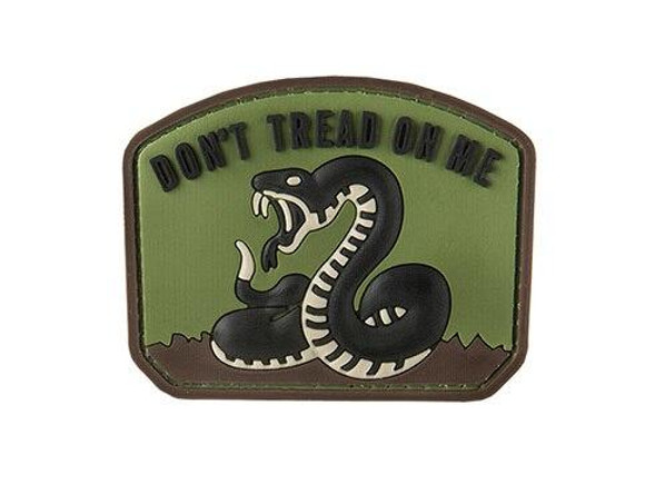 G-Force Dont Tread On Me PVC Morale Patch, OD Green
