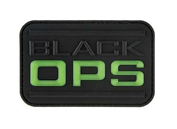 G-Force Black Ops Glow PVC Morale Patch