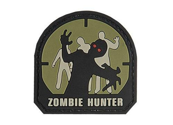 G-Force Zombie Hunter PVC Morale Patch, Small, OD Green