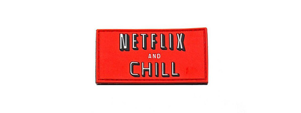 Aprilla Design Group Netflix and Chill Patch, Full Color