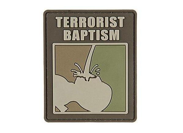 G-Force Terrorrist Baptism PVC Morale Patch