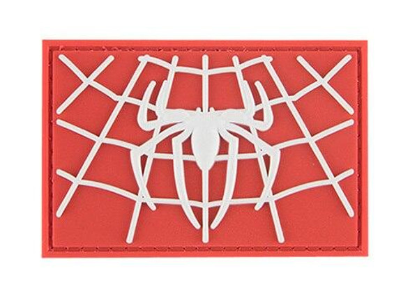 G-Force Web Man Morale Patch, White and Red