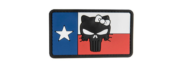 G-Force Texas Flag Punisher Kitty PVC Patch