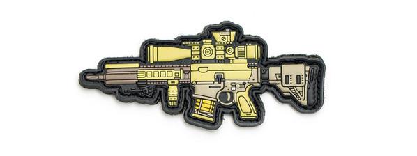 Aprilla Design PVC Iff Hook and Loop Modern Warfare Series Patch, G28