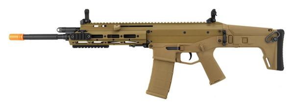 WE Tech MSK Open Bolt Gas Blowback Airsoft Rifle, Tan