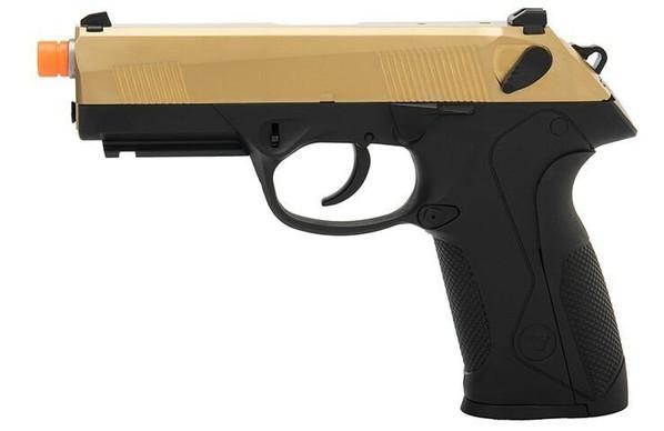 WE Tech Bulldog Full Size Full Metal Gas Blowback Airsoft Pistol, Titanium Gold